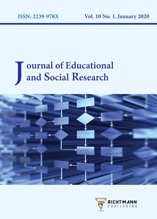 Journal of Educational and Social Research. Scopus Indexed and peer reviewed journal